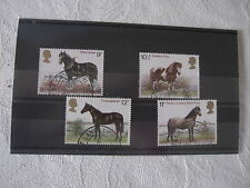 Horses Used Great Britain Commemorative Stamps (1970s)