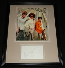 Mary Wilson Signed Framed 11x14 Photo Display The Supremes Coca Cola