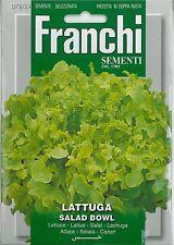 Franchi Seeds Lettuce Green Salad Bowl seed
