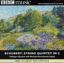 SCHUBERT - STRING QUINTET IN C MAJOR / VELLINGER QUARTET ETC: BBC MUSIC CD 1998