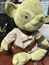 Build-A-Bear Star Wars YODA Plush 14 in Rare Master Jedi in Robe 2016 Sound