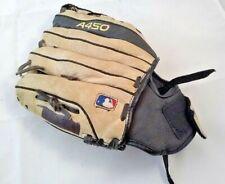 "Wilson A450 11"" Youth Baseball Mitt Glove Right Throw RHT Leather Kids"