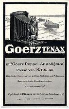 Optische Anstalt C.P.Goerz Berlin Friedenau Kamera Tenax Doppel- Anastigmat 1913