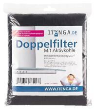 itenga Universal Aktivkohlefilter Dunstabzugshaube 57x47 Fettfilter +Kohlefilter