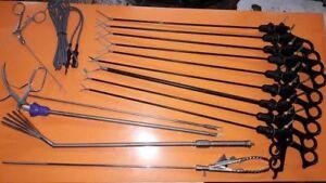 Laparoscopic Gynaecology Laparoscopy Grasper Forceps Instruments Set 5mm x 450mm