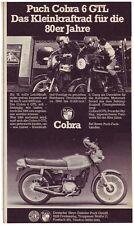 PUCH COBRA 6 GTL-storica pubblicità con loghi pubblicità-vecchio annuncio