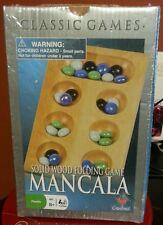 Mancala solid wood folding game Brand New Sealed