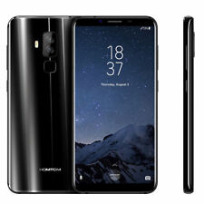 HOT! HOMTOM S8 5.7'' HD 4G Smartphone Android7.0 Octa Core 4GB+64GB Mobile BLACK