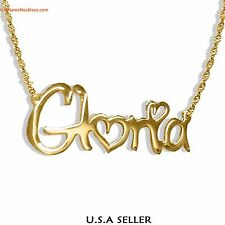 Custom Name Necklace 24K Gold-plated - Any Name necklace  Jewelry