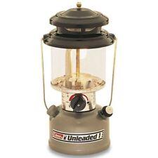 Coleman Single Mantle Lantern Unleaded Liquid Fuel Camping Fishing Outdoors 125w