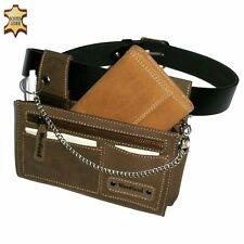 Suede Server Set Waiter Wallet Waiter Pocket Holster Purse Bag