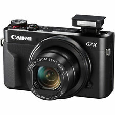 Canon G7X Mark II G7 PowerShot 20.1MP cámara digital X II (Negro)
