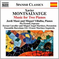 Jordi Maso - Montsalvatge: Piano Music Volume 3 (Jordi Maso/ Miquel [CD]