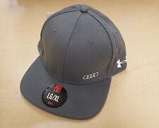 Audi Collection Under Armour Flat Bill Cap Hat ACM-448-8GR-YL-/XL