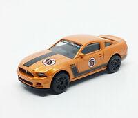 Majorette Ford Mustang Boss Orange Racing no.15 1:61 3 inches 204A New no Box