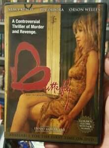 BUTTERFLY 1981 DVD STACY KEACH ORSON WELLS PIA ZADORA ENNIO MORRICONE OOP RARE
