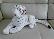 Siberian Tiger Stuffed Animal Cat White - Ringling Bros. with Tags - White 16""