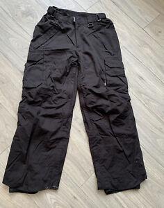 Westbeach Men's Black Snowboarding Ski Pant Trousers S Waterproof Classic Series
