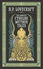 NEW The Complete Cthulhu Mythos Tales By H.P. Lovecraft Leather Bound Book