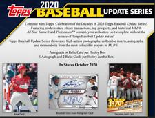 2020 Topps Update Baseball Factory Sealed Hobby Box ( Pre Sale )