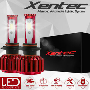 2x 9004 HB1 LED Headlight Kit Bulbs For Dodge Ram 1500 2500 High Low Beam 200W