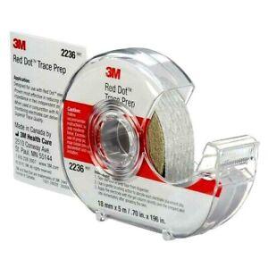 3M  EA Red Dot Trace Prep, Dispenser Roll 2236