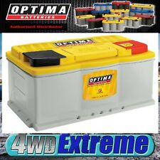 OPTIMA YELLOW DH6 AGM BATTERY DEEP CYCLE STARTING RANGER VE VF 800CCA 72AH H6