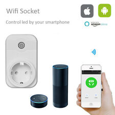 Smart Wi-Fi Mini Outlet US Plug Switch Works With Echo Alexa Remote Control Home