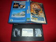 1987 Equalizer 2000 VHS 1St Ed SPAIN Cirio H Santiago Post-Apocalyptic Z RARE