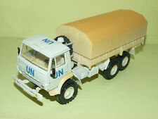 CAMION KAMAZ 4310 MILITAIRE UN Blanc & Sable MADE IN URSS