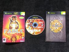 JEU Microsoft XBOX : FABLE (jeu de rôle COMPLET envoi suivi PAL)