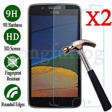 2Pcs Premium 9H Tempered Glass Screen Protector For Motorola Moto G4 G5 G5S Plus