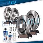 Front & Rear Disc Brake Rotors + Brakes Pads kit for 2007 - 2013 Nissan Altima