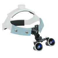 3.5X-R Dental Surgical loupes Medical Headband Binocular Loupe Glass Magnifier A