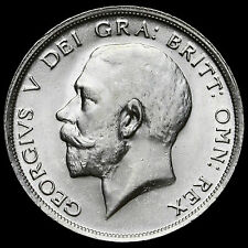 1915 George V Silver Half Crown – A/BU