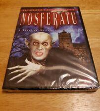 Nosferatu - DVD - Multiple Formats Black & White Silent NEW Region Free