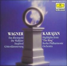 "WAGNER Highlights from ""The Ring"" CD BERLIN PHILHARMONIC ORCHESTRA"