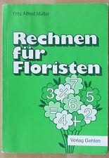 Lehrbuch Ausbildung Florist Rechnen Prozent-Rechnung Zinsen Diskont Dreisatz