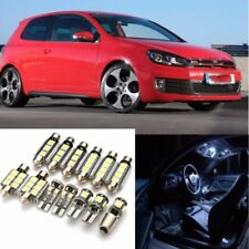 13x White Car Interior LED Light Bulbs Kit For VW Golf 6 MK6 GTI 2010-2015
