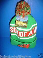 Elf The Movie Son Of A Nutcracker Toboggan Hat New!! Buddy The Elf