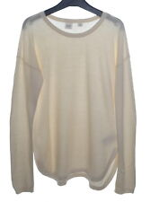 GAP 100% Cotton Curved Hem Sweater Lightweight Fine Knit 12-13 XL GUC