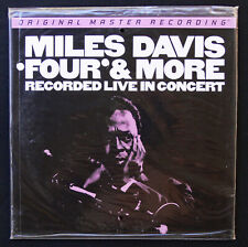 MFSL LP  MILES DAVIS ** SEALED PROMO **  FOUR & MORE    Mobile Fidelity  MoFi