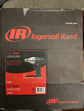 "NEW Ingersoll Rand D040 DO40 Mini 1/4"" Cordless Drill Only 65mm IRTD040 Tools"
