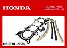 GENUINE HONDA K24 ENGINE BUILD REFRESH KIT HEAD GASKET TIMING CHAIN KIT GUIDES