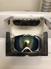 New OAKLEY CROWBAR snowboard ski goggles* SLALOM MINT & EMERALD IRIDIUM