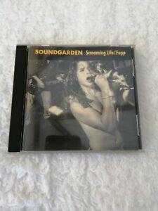 Soundgarden-Screaming Life/Fopp CD audio album 1990 Chris Cornell good condition