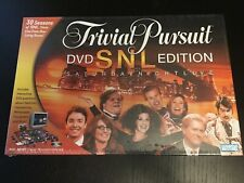 2004 Trival Pursuit SNL DVD Board Game Edition New Mint Condition Factory Sealed