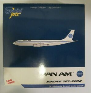 Gemini Jets Pan Am Boeing 707-320B - GJPAA109 - 1/400