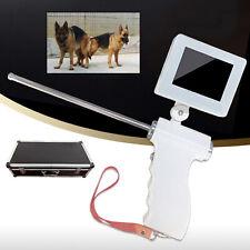 Visual Dog Artificial Insemination Gun 5Mp Waterproof Camera Rotatable Screen Us