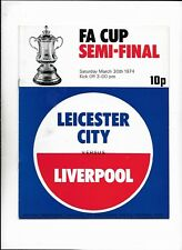 LEICESTER CITY V LIVERPOOL 30/03/1974 FA CUP SEMI-FINAL @ OLD TRAFFORD (a)